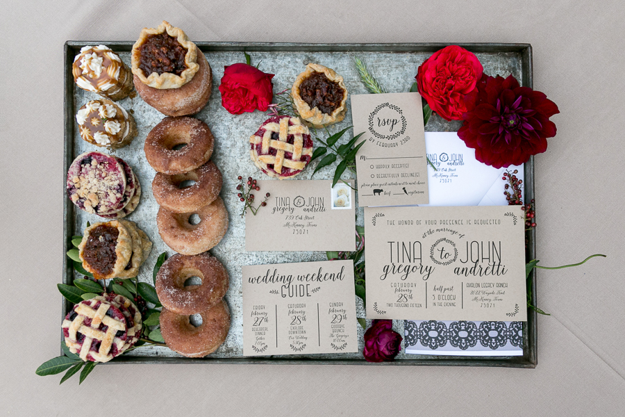 Dessert Bar Treats for a styled shoot by Havi Frost Photography