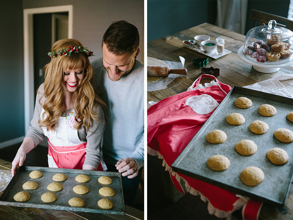 Dallas Fort Worth Bakery Christmas Desserts styled shoot Amuse Bake Shop
