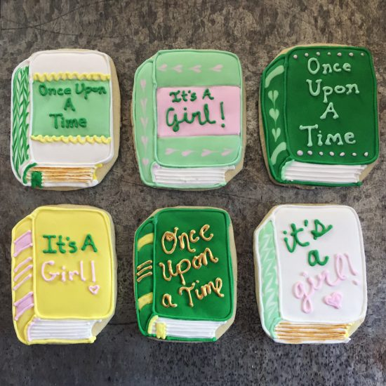 Dallas Fort Worth Bakery decorated cookies for weddings and events