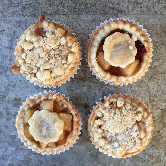 Dallas Fort Worth Bakery mini pies and dessert bars for weddings and events